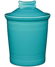 Fiesta Turquoise Dog Treat Jar
