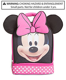 Disney's® Minnie Mouse Little & Big Girls Double-Compartment Lunch Bag