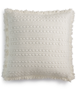Lacourte Sakai Handcrafted Embroidered 22 Square Decorative Pillow Created for Macys