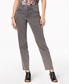 Petite Tummy-Control Jeans, Created for Macy's