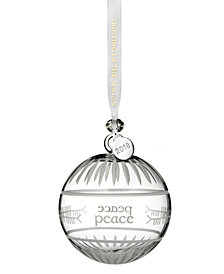 "Waterford Ogham ""Peace"" Ball Ornament"
