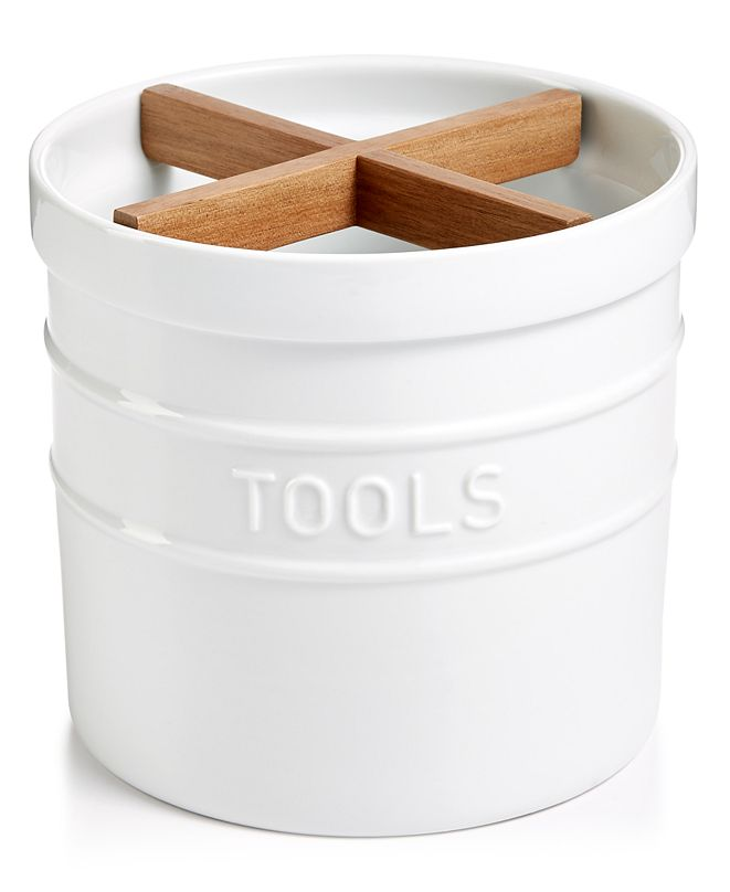 Martha Stewart Collection Ceramic Tool Crock, Created for Macy's