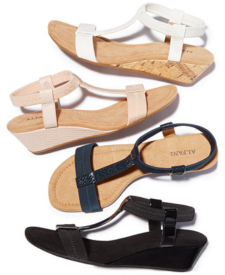 77204bca0239 Alfani Women s Voyage Wedge Sandals
