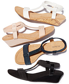 Alfani Women's Step 'N Flex Voyage Wedge Sandals, Created for Macy's