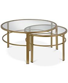 Gaia Nesting Coffee Table, Set of 2