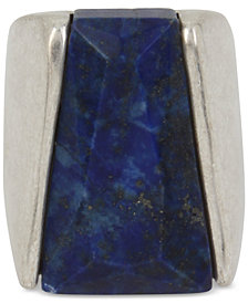 Robert Lee Morris Soho Silver-Tone & Stone Statement Ring