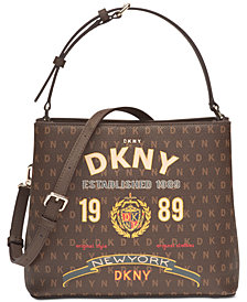 DKNY Small Signature Bucket Bag, Created for Macy's
