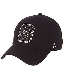 Zephyr North Carolina State Wolfpack Black/White Stretch Cap