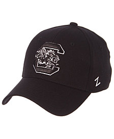 Zephyr South Carolina Gamecocks Black/White Stretch Cap