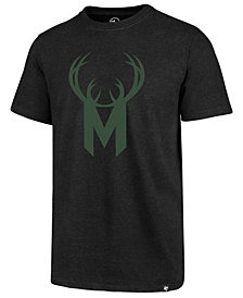 '47 Brand Men's Milwaukee Bucks Mashup Logo Club T-Shirt