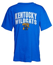 J America Kentucky Wildcats Double Arch Mascot T-Shirt, Big Boys (8-20)