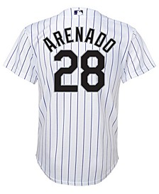 Nolan Arenado Colorado Rockies Player Replica Cool Base Jersey, Big Boys (8-20)