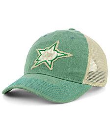 adidas Dallas Stars Sun Bleached Slouch Cap