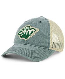 adidas Minnesota Wild Sun Bleached Slouch Cap