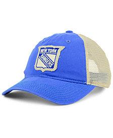 adidas New York Rangers Sun Bleached Slouch Cap