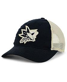 adidas San Jose Sharks Sun Bleached Slouch Cap