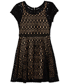 BCX Big Girls Fit & Flare Lace Dress