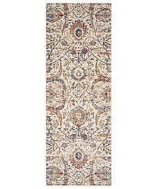 "Loloi Porcia PB-03 Ivory 2' 8"" x 8' Runner Area Rug"