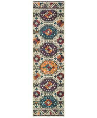 """CLOSEOUT! Archive Collin 2' 7"""" x 10' 0"""" Runner Rug"""