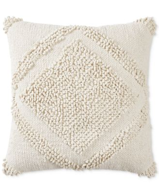 "Loop Dia 22"" X 22"" Decorative Pillow, Created for Macy's"