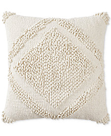 "Lucky Brand Loop Dia 22"" X 22"" Decorative Pillow, Created for Macy's"