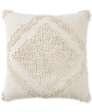 Lucky Brand Loop Dia 22 X 22 Decorative Pillow Created for Macys Bedding