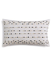 "CLOSEOUT! Linen 14"" X 24"" Decorative Pillow, Created for Macy's"