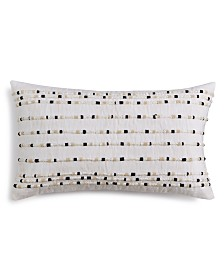 "CLOSEOUT! Hotel Collection Linen 14"" X 24"" Decorative Pillow, Created for Macy's"