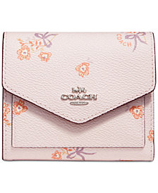 COACH Floral Bow Wallet