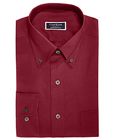 Club Room Men's Slim-Fit Stretch Wrinkle-Resistant Pinpoint Solid Dress Shirt, Created for Macy's