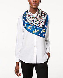 Weekend Max Mara Uvina Silk Printed Scarf