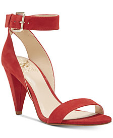 Vince Camuto Caitriona Cone-Heel Dress Sandals