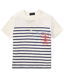 Polo Ralph Lauren Little Boys Cotton Henley Shirt