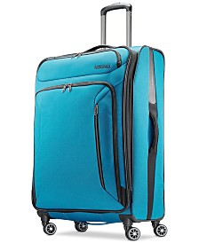 "American Tourister Zoom 28"" Softside Spinner Suitcase"