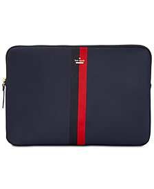 kate spade new york Varsity Stripe Universal Nylon Laptop Case