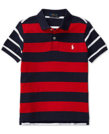 Polo Ralph Lauren Big Boys Striped Cotton Polo
