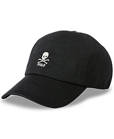 Polo Ralph Lauren Men's Embroidered Skull Baseball Cap