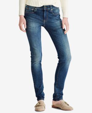 The Tompkins Superskinny Jeans, Indigo Blue