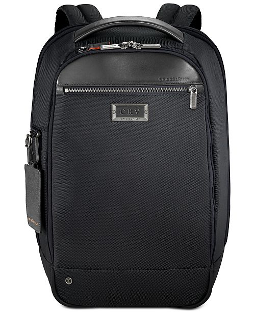 11c7321a2 Briggs & Riley Medium Slim Backpack & Reviews - Home - Macy's