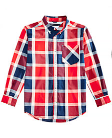 Tommy Hilfiger Big Boys Lamar Plaid Shirt