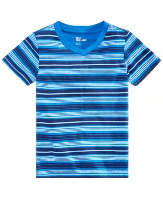 Little Boys Earth Striped T-Shirt, Created for Macy's