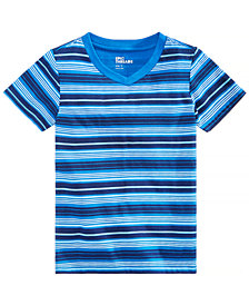 Epic Threads Toddler Boys Earth Striped T-Shirt, Created for Macy's