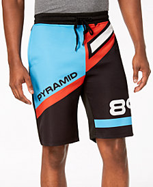 Black Pyramid Men's Colorblocked Shorts