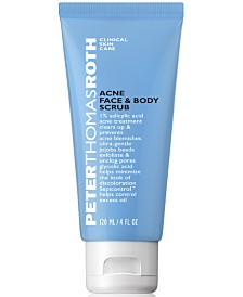 Peter Thomas Roth Acne Face & Body Scrub, 4 fl. oz.