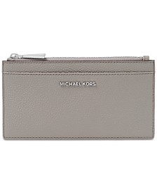 MICHAEL Michael Kors Pebble Leather Slim Card Case