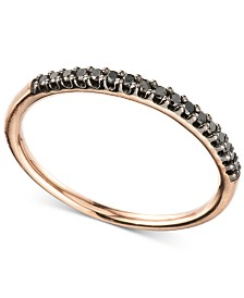 Elsie May Diamond Band (1/10 ct. t.w.) in 14k Rose Gold, Created for Macy's
