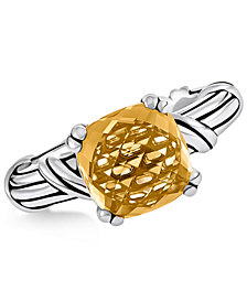 Peter Thomas Roth Citrine Ring (4 ct. t.w.) in Sterling Silver