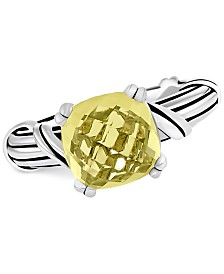 Peter Thomas Roth Lemon Citrine Ring (4 ct. t.w.) in Sterling Silver