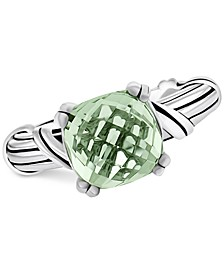 Prasiolite Ring (4 ct. t.w.) in Sterling Silver