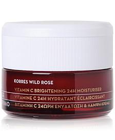Wild Rose Vitamin C Brightening 24H Moisturiser